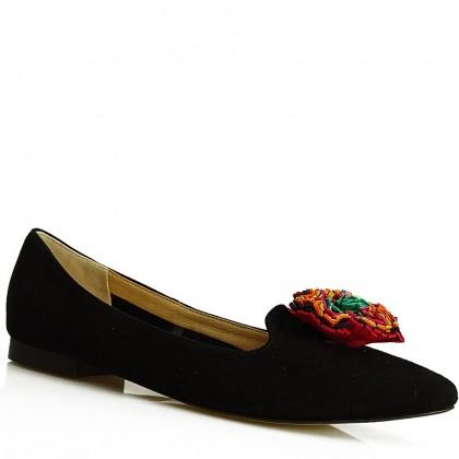 Baleriny damskie, slippersy 8771 CZZ