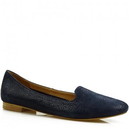 Baleriny damskie slippersy 7681 DRG