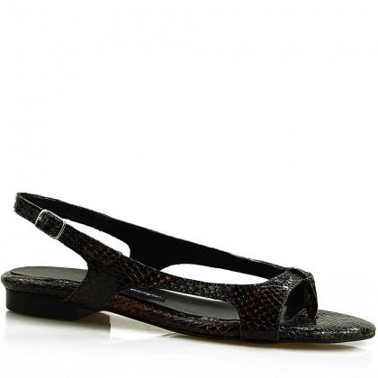 Sandały damskie 090 WBR