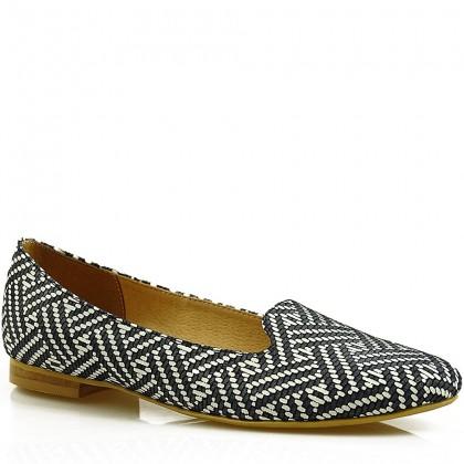 Baleriny damskie slippersy 7681 GRB
