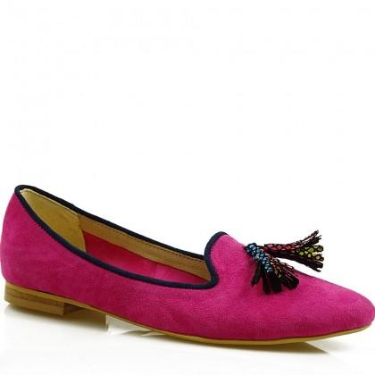 Baleriny damskie slippersy 7687 ROZ