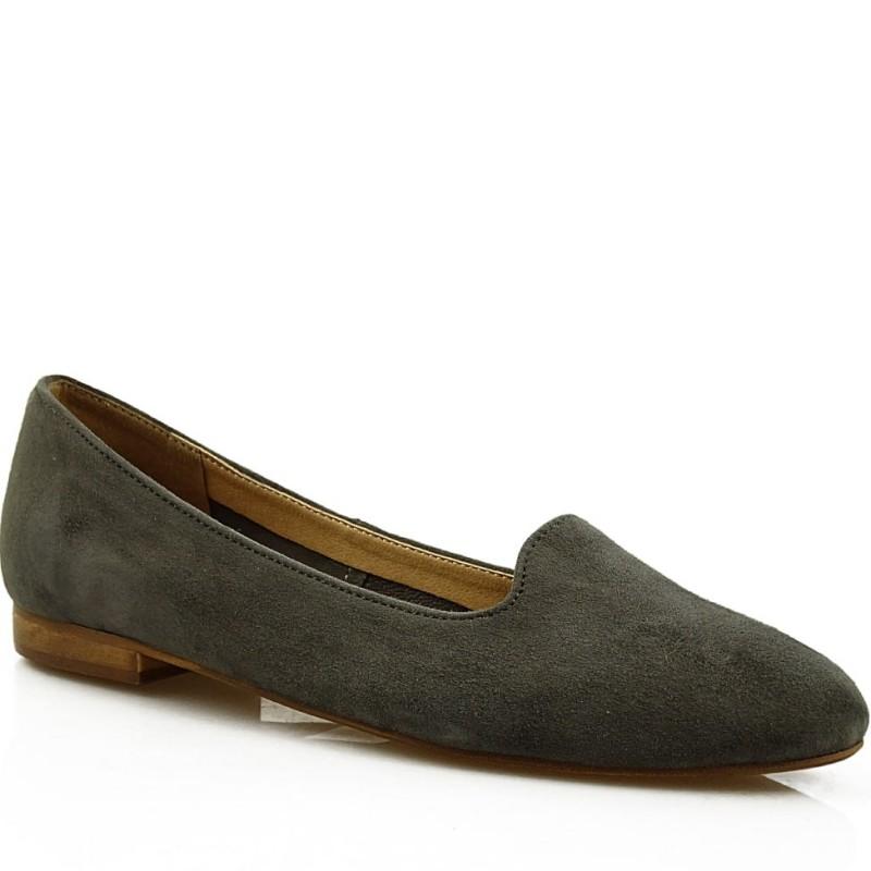 Baleriny damskie slippersy 7681 SZZ