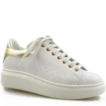 Sneakersy damskie Alexio Giorgio AC1 BZ, skórzane